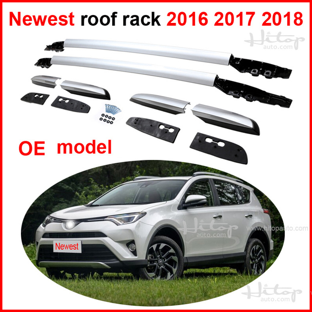 Newest Roof Rail Luggage Bar Roof Rack For Toyota Rav4