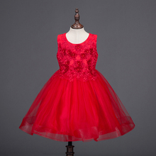 Summer Flower Girl Dress Ball Gowns Kids Dresses For Girls Party Princess Clothes 4 to 8 Year Birthday