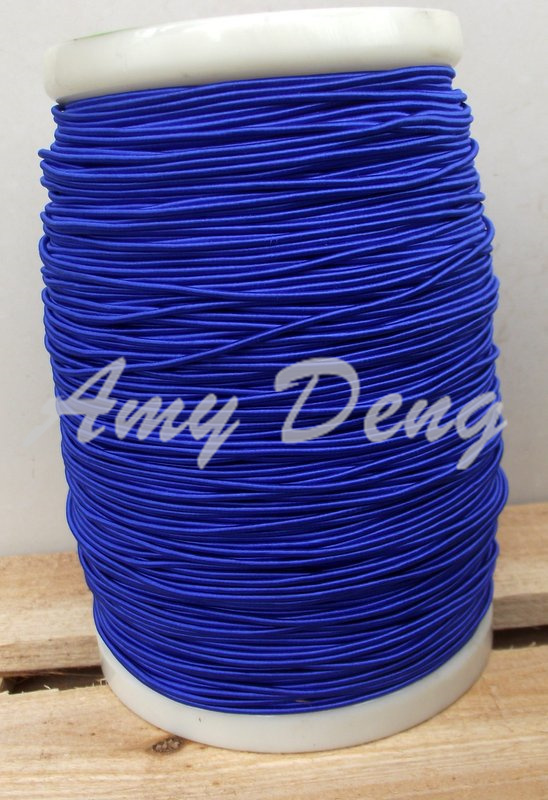 10 meters lot 0 04X1200 shares its high frequency sound strands of blue silk cotton litz
