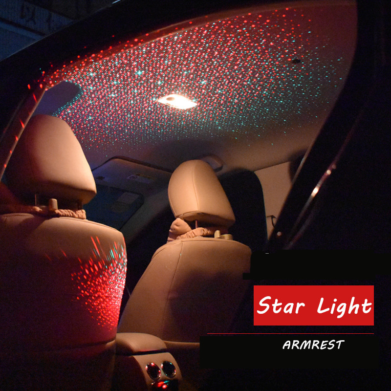New Arrival Free Shipping USB LED Car Interior Lighting Kit car styling interior decoration atmosphere light