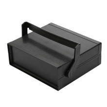 200*175*70mm Waterproof Plastic Electronic Enclosure Project Box Instrument Desk Case Shell With Handle Black