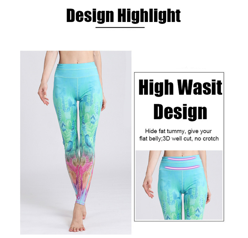 HTB1re1GOAvoK1RjSZFNq6AxMVXaf - Fast Dry Women Yoga Pants Workout Print Gym Leggings Running Fitness Training Elastic Sexy Long Tights Trousers for Dancing