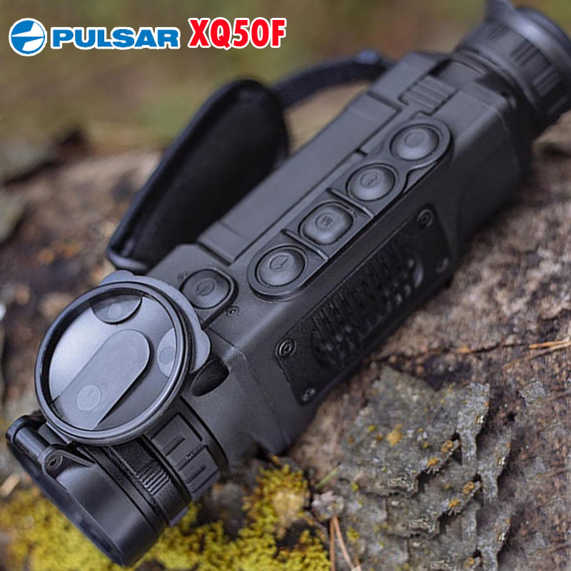 Pulsar XQ50F Thermal Imaging Monocular 50Hz Handheld Thermal Spotting Night Vision Camera Range 1800m For Hot Hunting