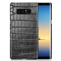 Luxury Genuine Crocodile Belly Skin Case For Samsung Galaxy Note 8 Cover Original Crocodile Leather Phone