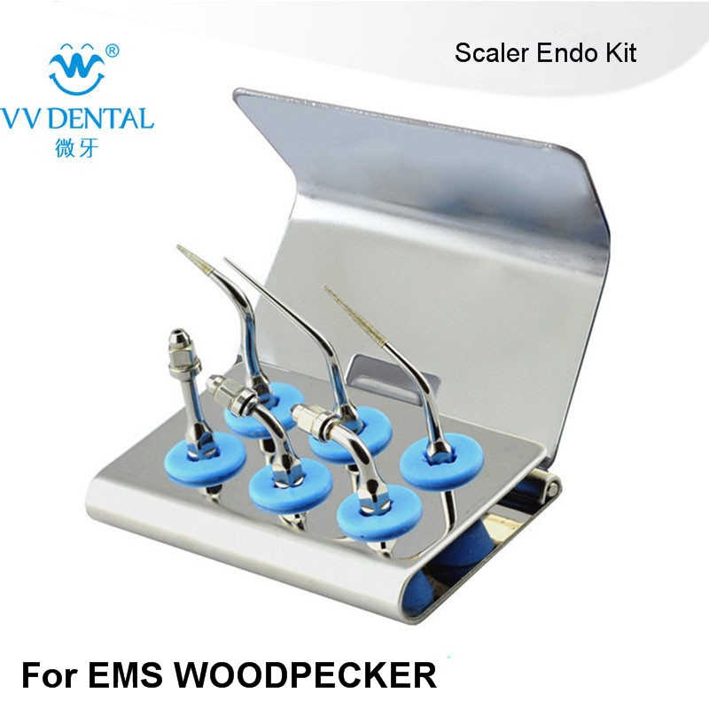 1 set EEKS DENTISTRY ENDODONTICS tips kit FIT EMS WOODPECKER SYBRONENDO MECTRON DENTAL INSTRUMENTS IN DENTISTRY ultrasonography in dentistry