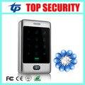 Boa qualidade autônomo única porta de controlador de acesso de 8000 usuários superfície de metal sistema de controle de acesso leitor RFID à prova d' água