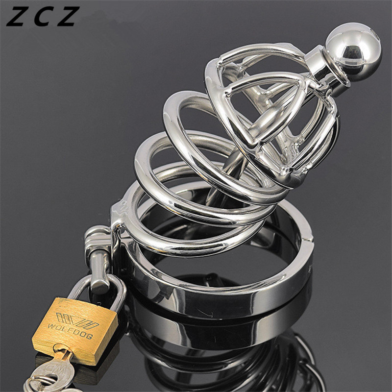 ZCZ Bellows catheterization Lock for men penis plug urethral sound stimulate masturbation man toys sex products toy WQ764