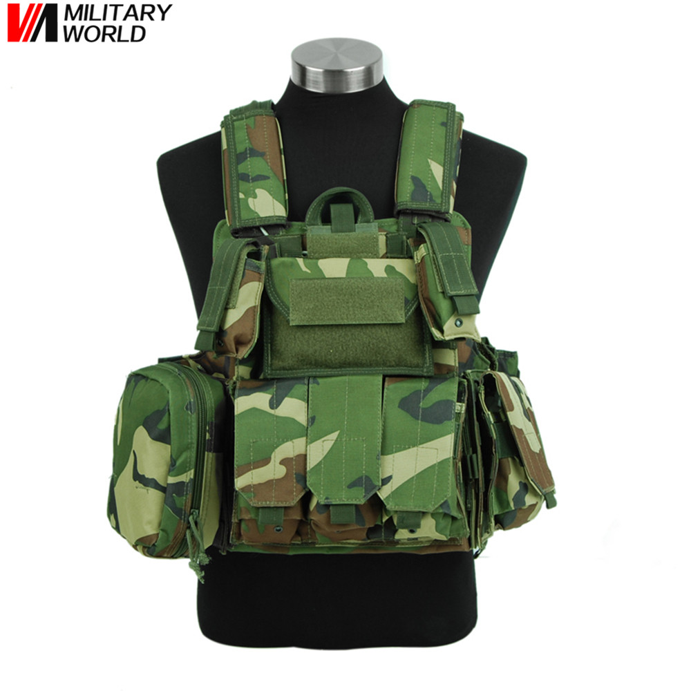 Tactical Vest Molle Outdoor Airsoft Army Nylon Combat Vest With Magazine Pouch Military Armor Plate Carrier Strike Vests For Men military tactical field vest cs hunting airsoft molle nylon combat w magazine pouch releasable armor plate carrier strike vests
