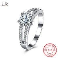 DODO zirkon hochzeit versprechen ringe für frauen 100% 925 sterling silber schmuck vintage klassische anillos mujer großhandel DR122