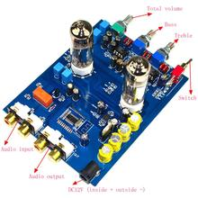 6J5 JRC5532 470UF/25V DC12 Fever HIFI 4.2 Bluetooth Bile Preamp Tone Board YJ