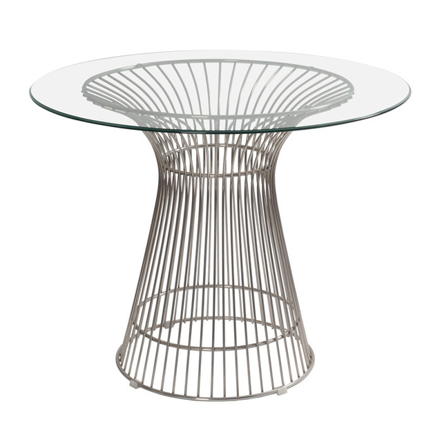 Warren Platner Dining Table Tables Wire Stainless Steel Wire Coffee Table  Casual Dining Tables