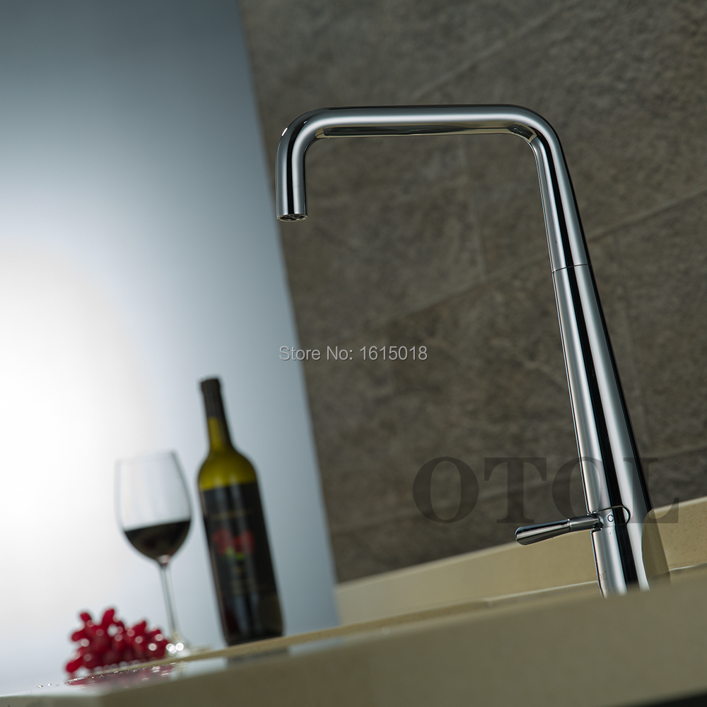 OTOL Manufactured European Commercial Style Solid Brass Kitchen Sink ...
