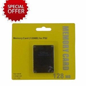 Image 5 - 8 16 32 64 128 MB כרטיס זיכרון עבור סוני עבור PS2 עם תיבה הקמעונאי