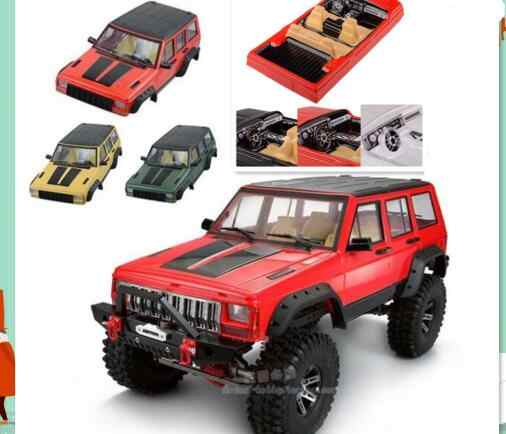 1/10 Cherokee Body auto shell Voor Axiale SCX10 AX90046 AX90047 Crawler Truck 4x4 313mm/275mm d90 CROSS RC TF2 RCW4D HSP HPI