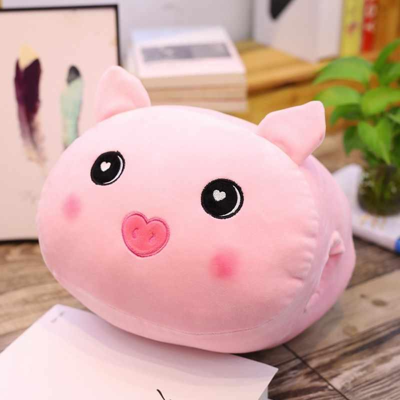 2019 Dos Desenhos Animados Animal Macio Bola Travesseiro Almofada Bonito Dinossauro Unicórnio Gordo Porco Hamster Brinquedo De Pelúcia Recheado Linda crianças Birthyday Presente