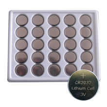 50 Pcs CR2032 3V Cell Button Lithium Battery DL2032 BR2032 ECR2032 CR2032 button cell Type Currency BatteriesFor Watches watches