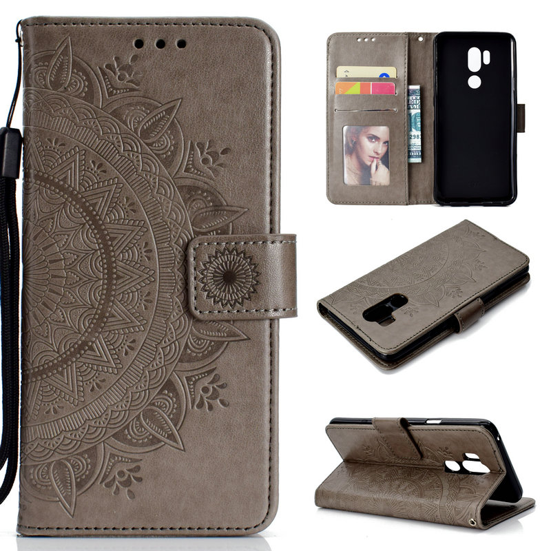 Купить Последним кожаный чехол для LG G7 ThinQ случае Coque LG G7 плюс Чехол Флип Бумажник Стенд для LG G7Plus крышка G 7 G7 + Чехлы для смартфонов на Алиэкспресс