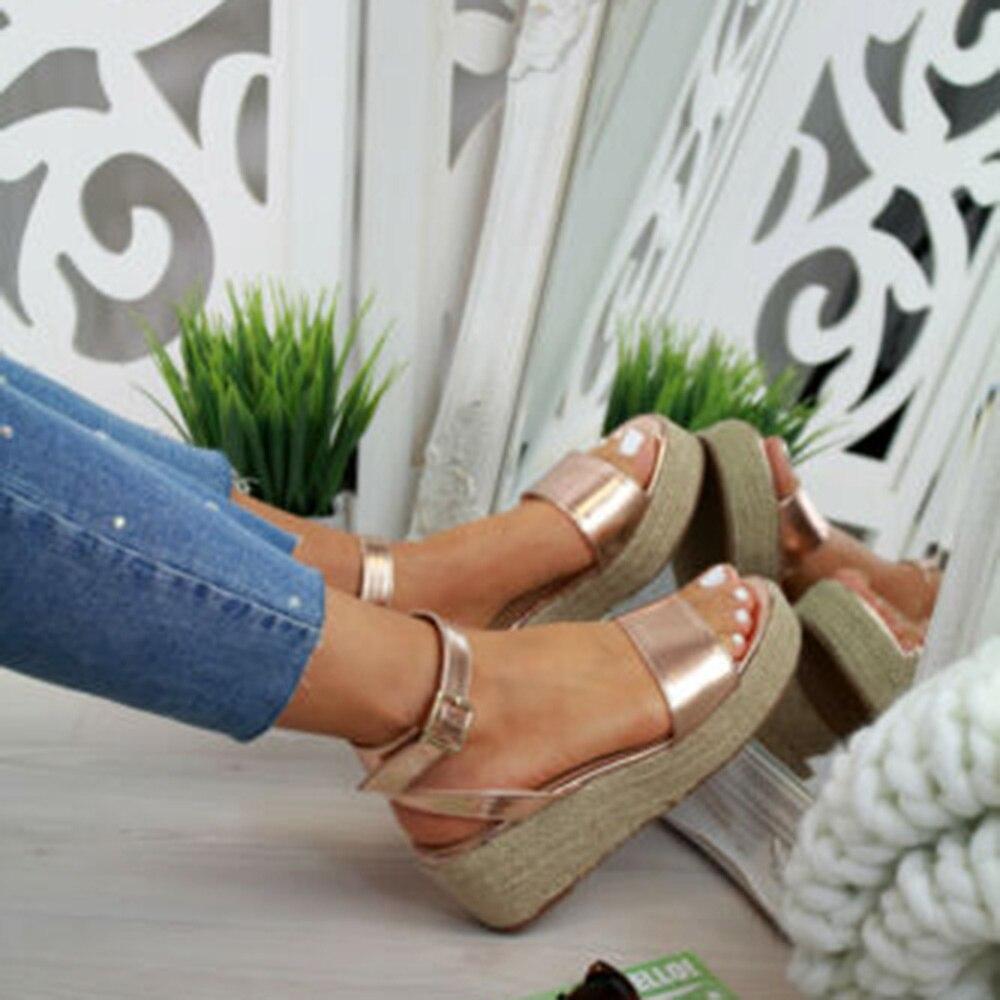 Oeak Summer Shoes Platform Sandals 2019 Fashion Women Wedges Shoes Casual Woman Peep Toe Black Platform Sandals Women HeelsOeak Summer Shoes Platform Sandals 2019 Fashion Women Wedges Shoes Casual Woman Peep Toe Black Platform Sandals Women Heels