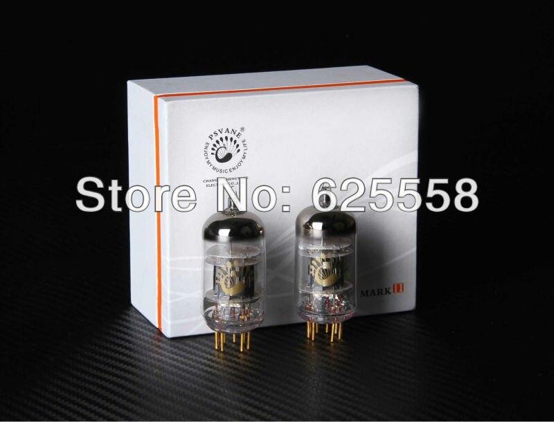2Pcs Psvane 12AX7-T premium grade matched pair vacuum tubes new