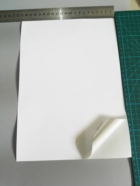 FUNCOLOUR 40 sheets A4 blank waterproof sticker paper matte white vinyl  label for inkjet printer NEW SPECIAL MATERIAL - RJ0001