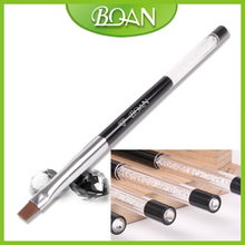 BQAN Free Shipping Rhinestone End Nylon Hair Nail Beauty Nail Art Brushes Nail Art Nail Brush Manufacturer 5#
