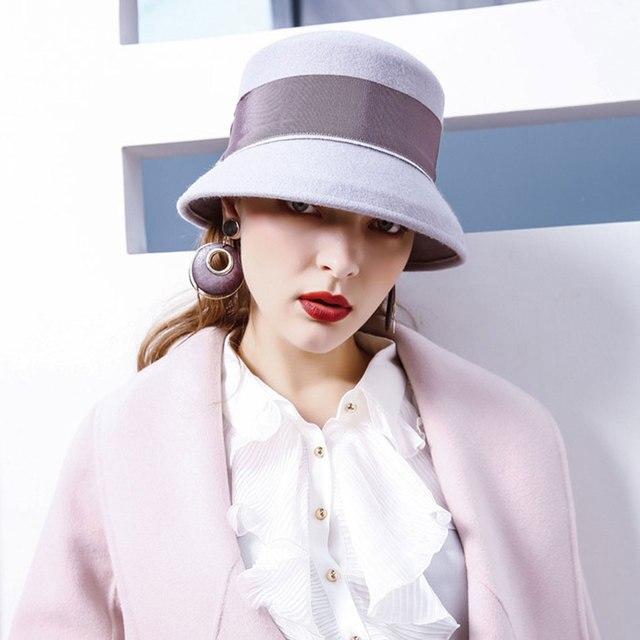 6eab144298607 FIA Wool Hat Vintage Cap Winter Hats For Women Summer Hats For Women Fedora  Hat