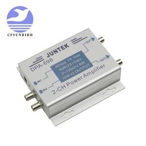 Image 2 - DPA 698 high power dual channel DDS function signal generator power amplifier DC power amplifier 40Vpp