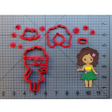 Hula Girl Cookie Cutter Custom Made 3D Printed Moana Fondat Cupcake Cutters Raggedy Ann For Cake Decoration Tools