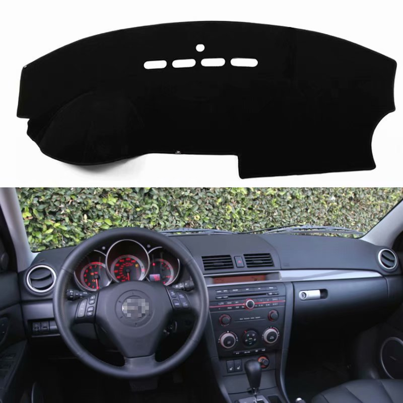 For Mazda 3 Mazda3 BK 2003 2004 2005 2006 2007 2008 Car Styling Covers Dashmat Dash Mat Sun Shade Dashboard Cover Capter  Custom