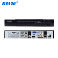 Smar Newest 5 IN 1 Video Recorder 4Ch AHD TVI CVI 1080N 720P 960H Real Time