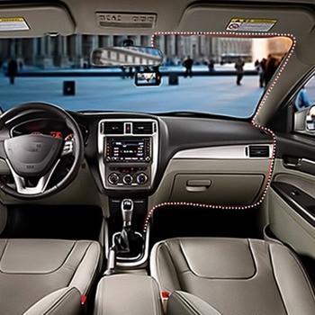Car DVR 3'' HD 1080P Vehicle Dashboard Camera Video Dash Cam Recorder Mirrow black diamond driving recorder double lens car mini