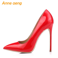 Women shoes 8cm 10cm 12cm High Heels Women Pumps Sexy Ladies Shoes Pointed Toe Classic Red Wedding shoes women Plus size 34-46 cocoafoal woman green high heels shoes plus size 33 43 sexy stiletto red wedding shoes genuine leather pointed toe pumps 2018