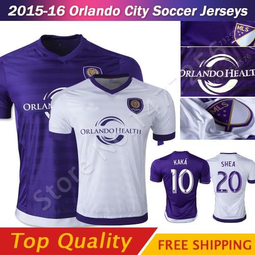 the latest f0f6f f7488 Orlando City 2016 FC Orlando Soccer Jerseys football shirt ...