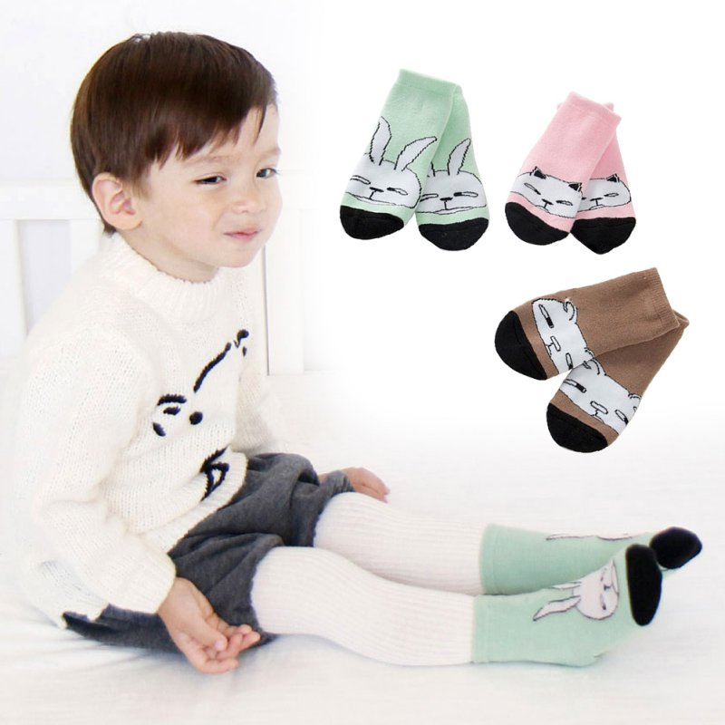 Toddler New Design Knee High Baby Socks Girls Boys Fall Winter Leg Warmers Socks Knee Pad