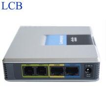 Бесплатная Доставка! разблокирована Linksys SPA9000 iP PBX Телефон VOIP Телефон адаптер Система V2 поддержка 16 пользователей