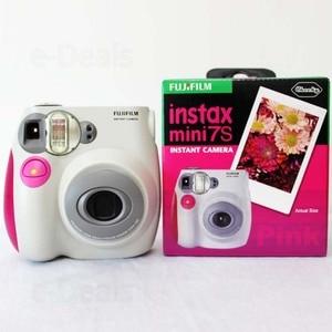Image 5 - 100% Authentieke Fujifilm Instax Mini 7 S Instant Photo Camera, Werken Met Fuji Instax Mini Film, goede Keuze Als Aanwezig/Gift