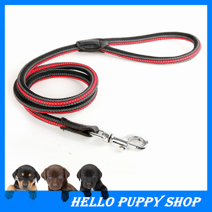 New Nylon Competion Game Training Walk Small Medium Large Pet Dog Leash Traction Collar Rope Chain Harness
