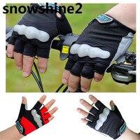 Snowshine2 #3522 Leadbike Велоспорт половина палец с светоотражающие велосипед спортивные противоскользящие Прихватки для мангала оптовая продажа