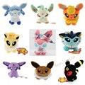 Pokemon Eevee Leafeon Umbreon Jolteon Sylveon Plush Baby Toy Doll 9pcs/set 5''