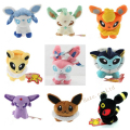Pokemon Leafeon Umbreon Jolteon Eevee Sylveon Felpa Muñeca Bebé de Juguete 9 unids/set 5''