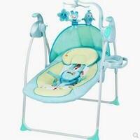 Infant elektrische musik schaukelstuhl heißer mamas beste wahl rosa kind schaukelstuhl drücken sie eine taste zu falten einfach zu bedienen