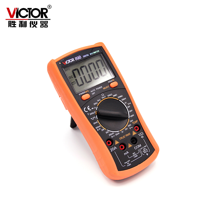 Victor 3 1/2 VC89B digital multimeter Fully protected high precision temperature multimeter Backlight  цены