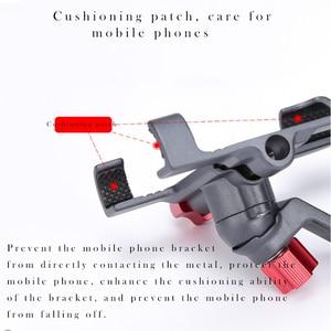 Image 5 - URANT aluminiowy uchwyt motocyklowy 360 stopni obrotowy uchwyt rowerowy uchwyt rowerowy na telefon komórkowy gps stojak na telefon