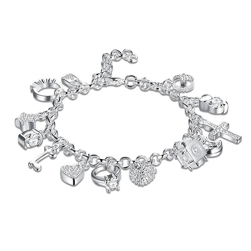 KNH144 925 Silver Bracelet...