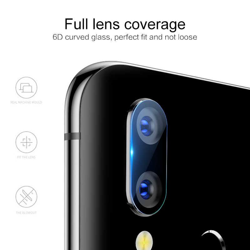 Back Kamera Lensa Kaca Pelindung Layar untuk Huawei P20 Lite Mate 20 X P20 Pro Huawei P10 Lite P smart Plus Tidak Tempered Glass