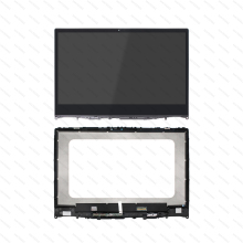 LCD Screen Assembly With Touch Digitizer Front Glass For Lenovo Ideapad Flex 6-14IKB 81EM000QUS 15 6 for lenovo flex 2 15 2 15 2 15d laptop touch screen digitizer glass lens replacement parts with frame