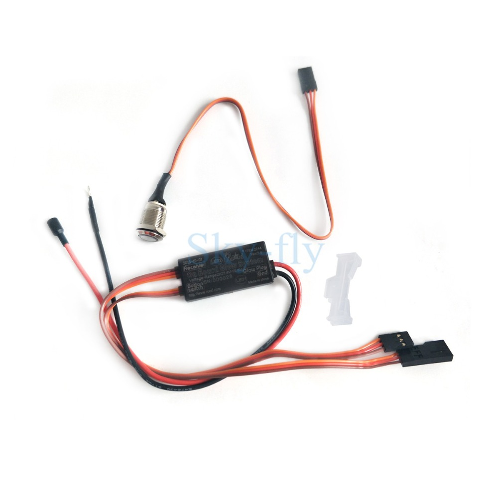 Rcexl On Board Glow System Ignition Drive Plug Driver For Nitro Current Clamp Circuit Rc Airplane Sky Fly In Parts Accessories From Toys Hobbies