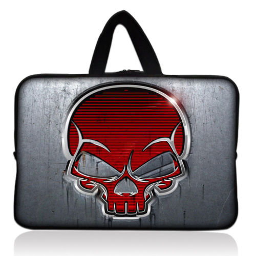 Red Skull 2017 New Soft Laptop Sleeve Bags 11 12 13 14 15 17 Laptop Bag Case For Macbook Air Pro Retina For Xiaomi Air image