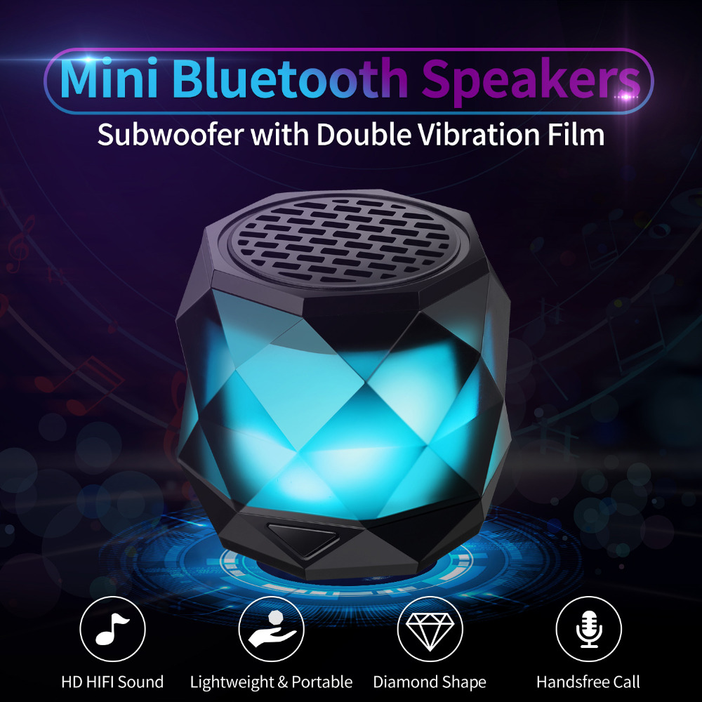No Vibration Bluetooth Speaker
