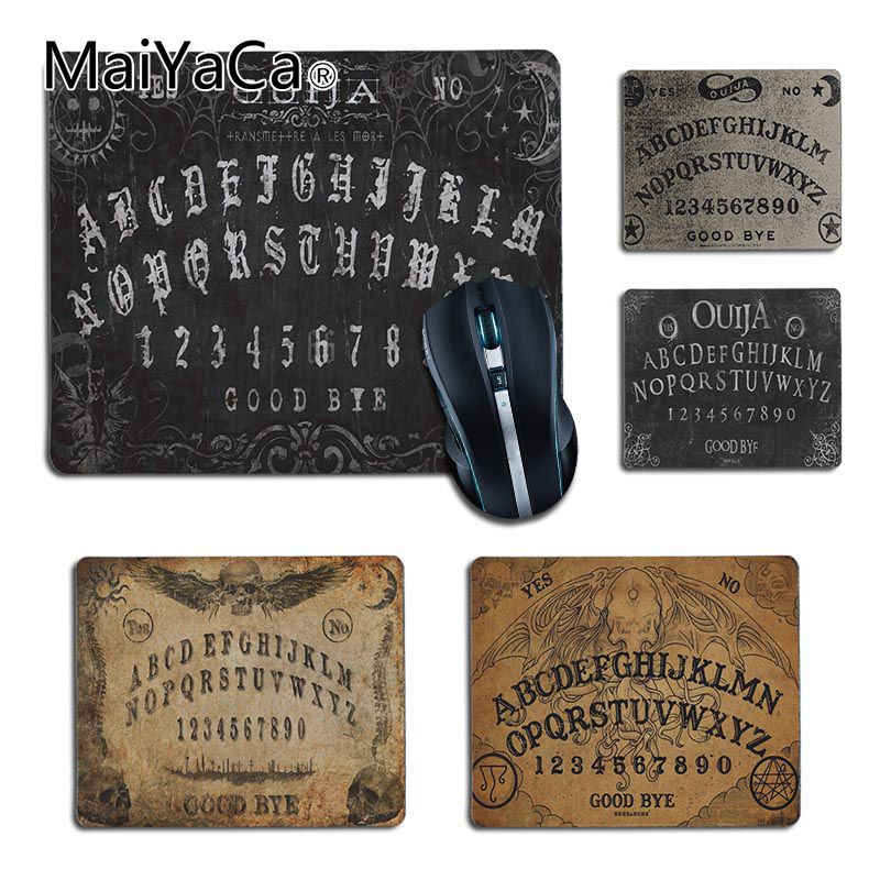 MaiYaCa  Ouija Board Printing  Office Mice Rubber Mouse Pad 2018 Hot Professional Gamer Mouse Pad Gift For Boy Friends And Lover
